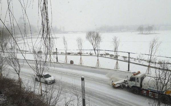 情人节,北京迎来又一场雪
