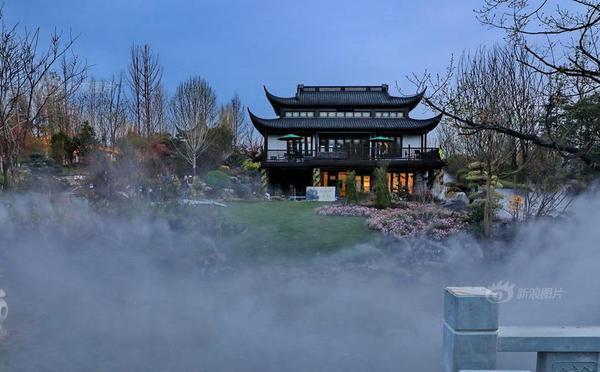 北京世园会探秘江西馆:薄雾朦胧美若仙境