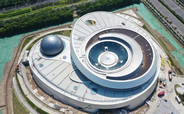 世界最大的天文馆即将在上海落成