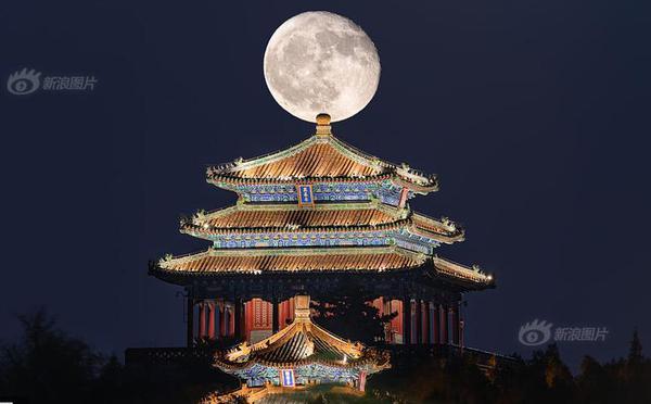 中秋节 遍赏世界各国月光美景
