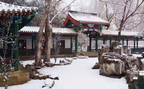 北京第二轮降雪来袭,这些雪景请查收
