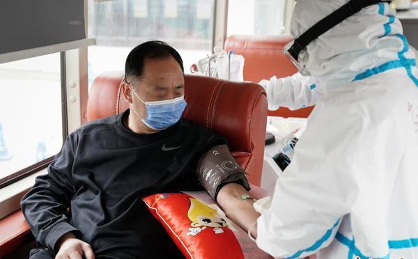 北京两名新冠肺炎康复者捐献血浆