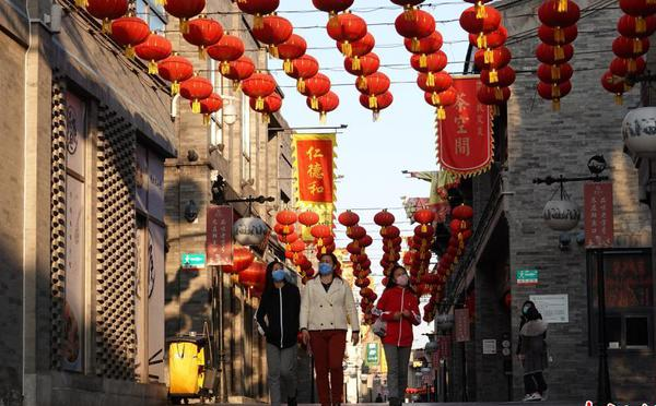 北京餐厅、商户逐渐恢复营业