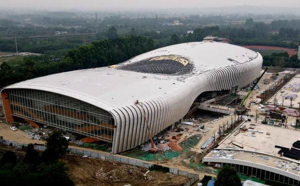 探访正在建设中的大运会体育场馆
