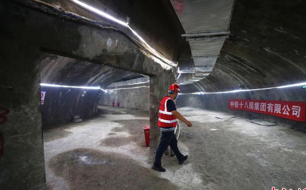 北京地铁宣武门站新增换乘通道