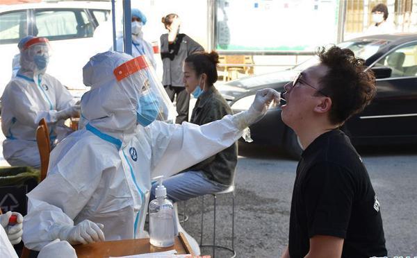乌鲁木齐市开始开展第三轮核酸检测筛查