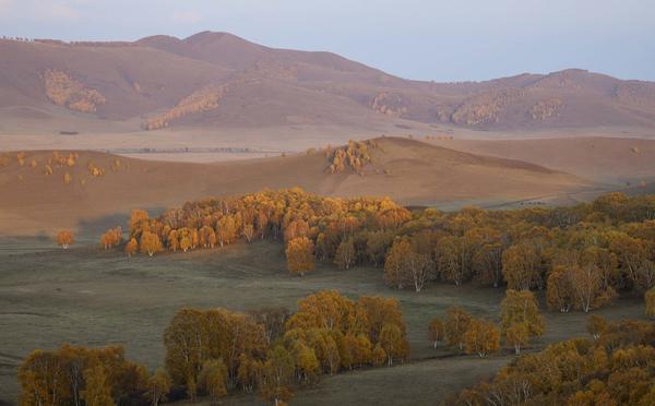 内蒙古乌兰布统色彩斑斓如童话世界