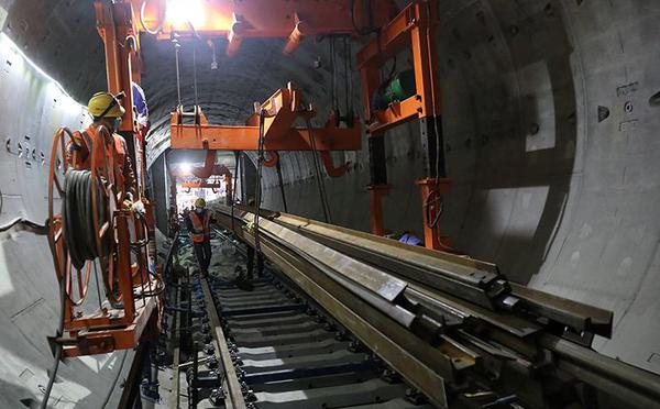 北京地铁17号线全面复工