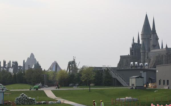 北京环球影城即将开园 建设进入收尾阶段