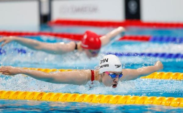 张雨霏顺利晋级女子200米蝶泳半决赛