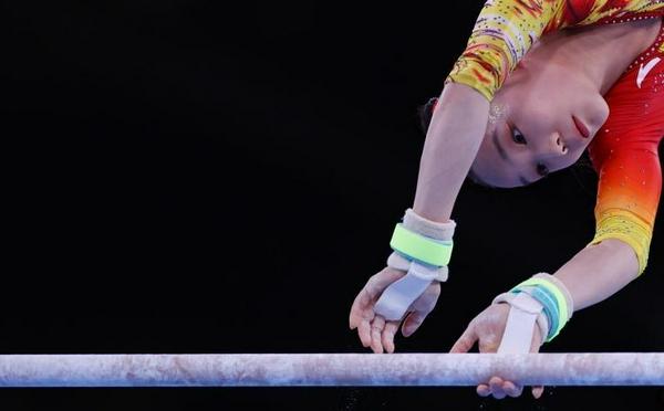中国队获得体操女子团体第7名