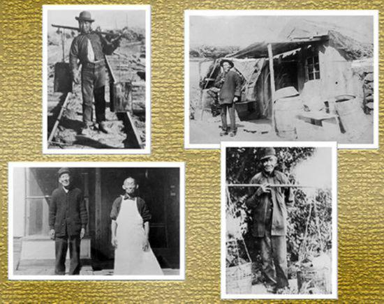 内华达州一家博物馆展示的图集显示了19世纪华工在当地的生活和工作的状态。
