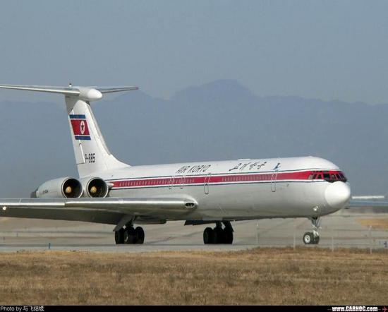 朝鮮高麗航空的伊爾-62客機(資料圖)