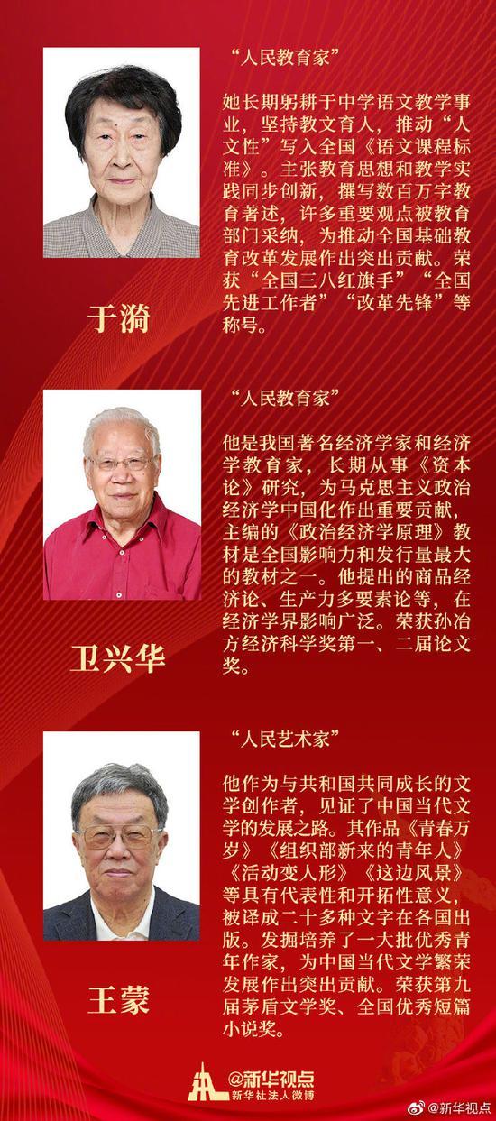 南仁东 董建华等28人获授国家荣誉称号