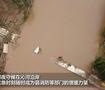 洪灾下的山西县城