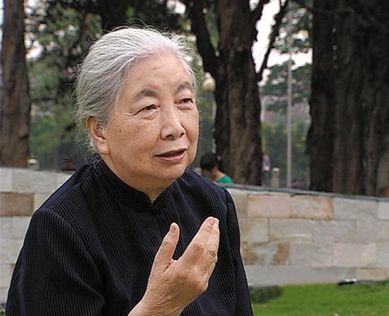 李筱菊教授。图片来自网络