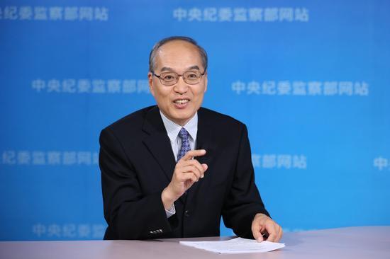 中心纪委副布告张军。
