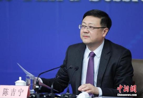陈吉宁。中新社记者 杜洋 摄