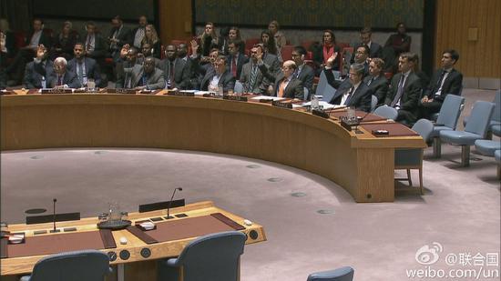 联合国安理会现场