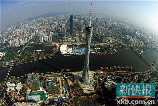 ■广州中轴线。新快报记者 宁彪/摄(航拍资料图)