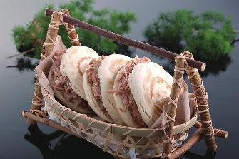 肉夹馍。材料图