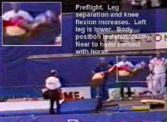 桑兰受伤视频截图