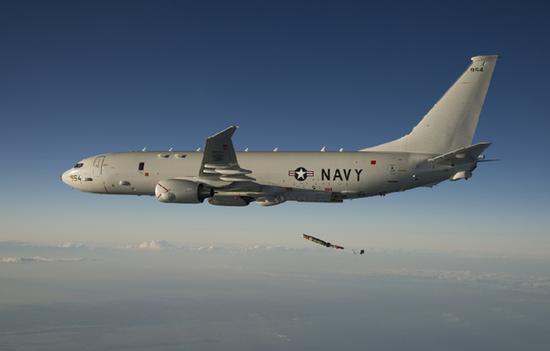 新加坡同意美定期派遣P-8反潜侦察机到新加坡做短期部署