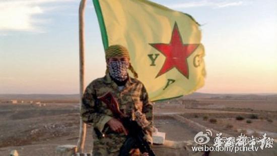 一位四川潘姓男子在网络上高调宣称,自己加入反ISIS的战斗行列