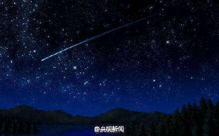 双子座流星雨明晚登场 最高每小时120颗