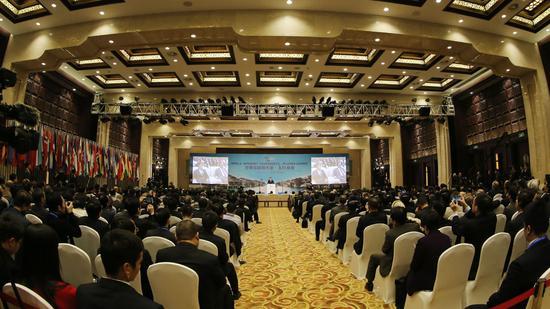 乌镇世界互联网大会开幕式。