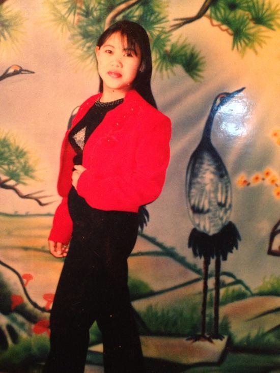 钱仁凤在狱中给家人寄去的照片。