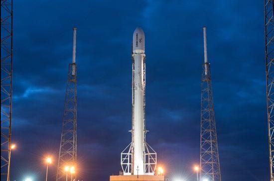 SpaceX公司twitter上最新发布的火箭回收照片