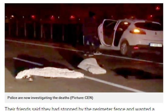 少年因躺在马路上自拍的配资开户 ,受到货车就地辗死。