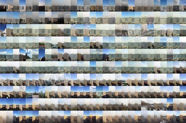 北京2015天空拼图:我们有过多少蓝天(图)