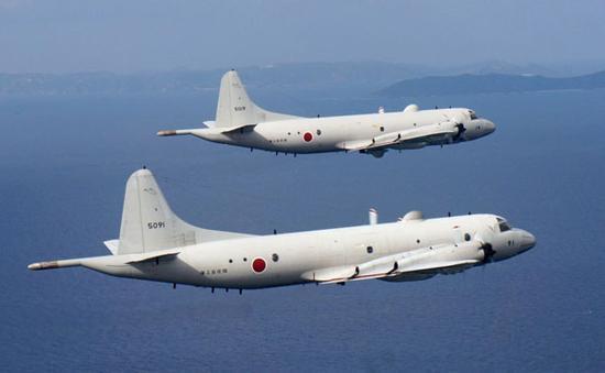 资料图:日本P-3C侦察机
