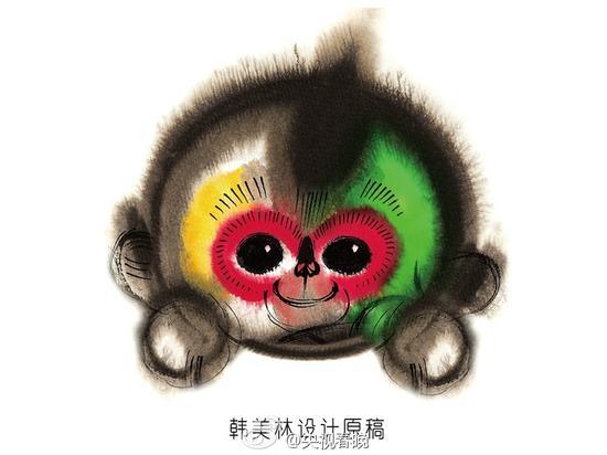 """猴年春晚吉祥物""""康康"""""""