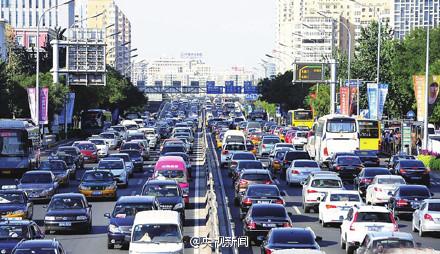 北京交通拥堵