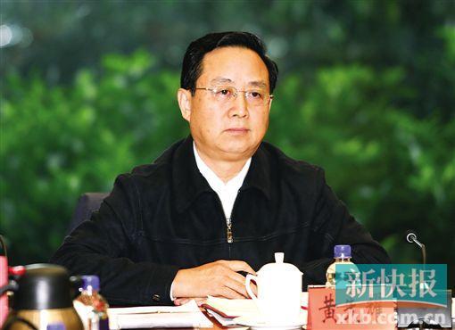 ■广东省委常委、省纪委书记黄先耀。新快报记者 毕志毅/摄