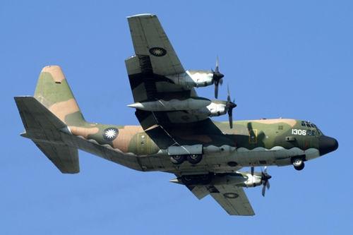 台军C-130运输机。资料图
