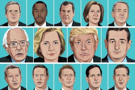 美国总统初选怎么选?看完这五点就都懂了_新闻中心_新浪网