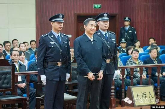 2013年8月薄熙来在济南受审