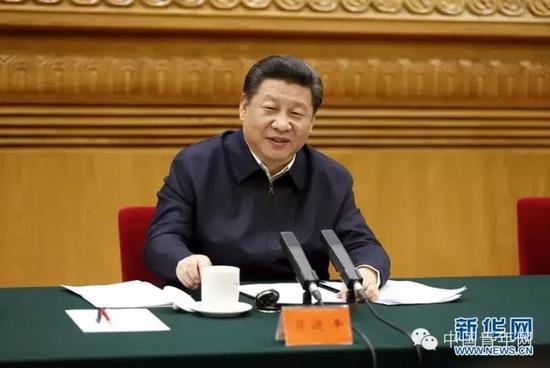 2月19日,中共中央总书记、国家主席、中央军委主席习近平在北京主持召开党的新闻舆论工作座谈会并发表重要讲话。资料图