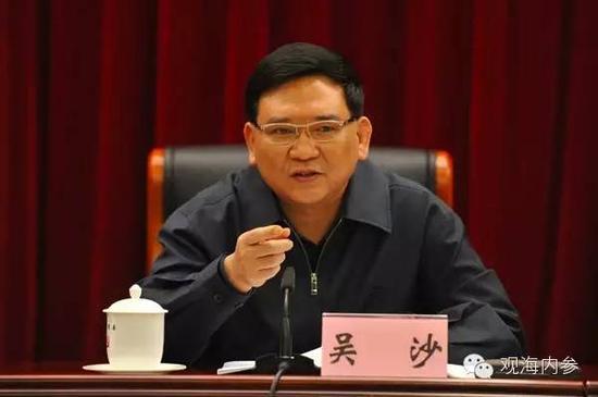广州市委原常委、市政法委原书记吴沙