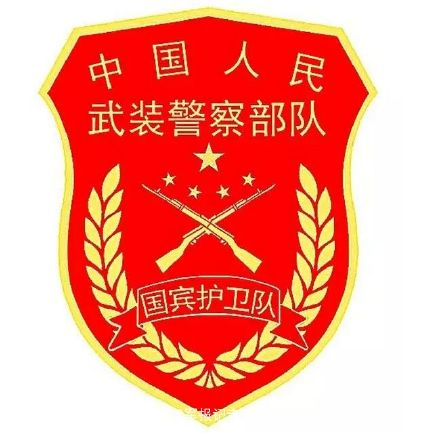 武警部队新式标志服饰