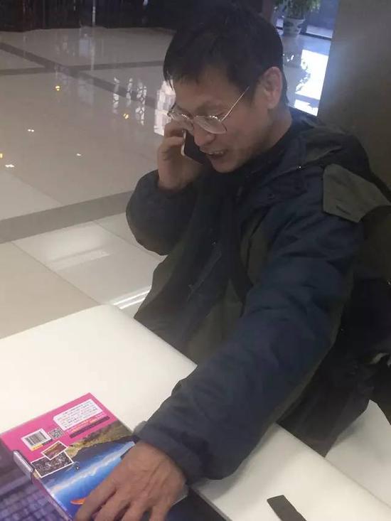 """""""引力波民科""""郭英森走红图片"""