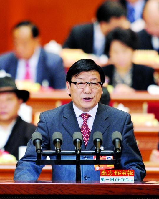 天下政协委员、国家人事科学研讨院原院长吴江。 新华社材料图