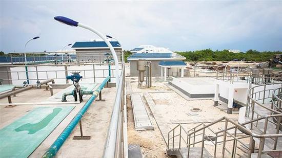 三沙永兴岛污水处理厂