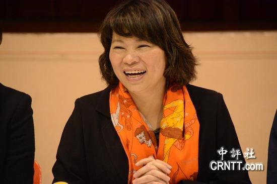 国民党主席参选人黄敏惠