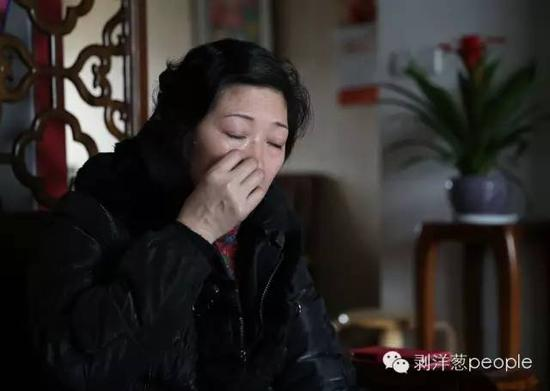 2016年3月18日,李征琴接受采访。新京报记者尹亚飞 摄