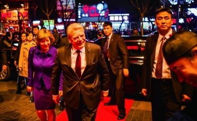 德国总统高克20日晚偕夫人前往簋街就餐 餐厅供图
